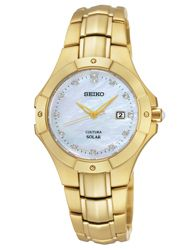 COUTURA for Women Seiko Collection |  #SUT168  |  Retail Price $395  | In-stock watches are 25% OFF and catalog orders are 20% OFF! | Click website for watch details | Andrew Gallagher Jewelers, Newark, DE | 302-368-3380 | WE SHIP!!! DON'T FORGET! There is NO Sales Tax in Delaware!!! |