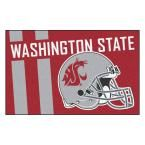 Ncaa Washington State University Red 1 ft. 7 in. x 2 ft. 6 in. Accent Rug