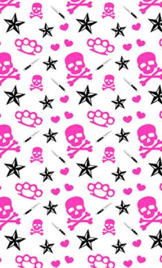 15 Best Paper Beads Template That Easy To Get Started Pink Skull Wallpaper, Goth Wallpaper, Cute Wallpaper For Phone, Cellphone Wallpaper, Pattern Wallpaper, Wallpaper Backgrounds, Iphone Wallpaer, Paper Beads Template, Gothic Fantasy Art