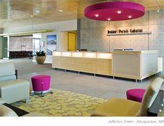 Jefferson Green @ The Journal Center Work Office Design, Dental Office Design, Modern Office Design, Medical Design, Healthcare Design, Modern Interior Design, School Design, Modern Offices, Interior Design Portfolios