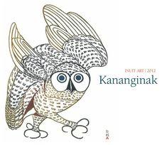 Kananginak • Inuit Art 2012 Calendar by Dorset Fine Arts, Inuit artist (CD2012CAL) Arte Inuit, Inuit Art, Native Art, Native American Art, Illustrations, Illustration Art, Subject Of Art, Collages, Organic Art