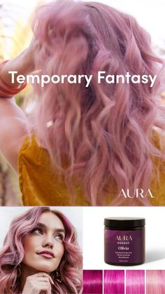 Ombre Hair Color, Hair Colors, Curly Hair Styles, Natural Hair Styles, Hair Cutting Techniques, Temporary Hair Color, Permanent Hair Dye, Hair Game, Mermaid Hair