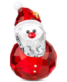 Swarovski Collectible Figurine, Rocking Santa - Swarovski - Holiday Lane - Macy's 60.00