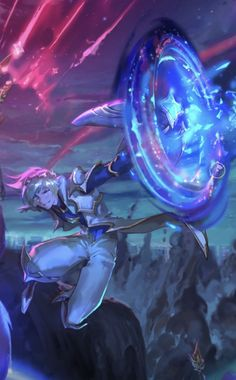 Star Guardian Ezreal - uploaded on League of Legends' official Facebook page! *-* <3