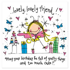 SMS Wishes Poetry: Happy Birthday Wishes Cards With Quotes Happy Birthday Greetings Friends, Happy Birthday Friend, Birthday Blessings, Happy Birthday Pictures, Birthday Wishes Quotes, Happy Birthday Messages, Sister Birthday, Funny Birthday, Happy Birthday Lovely Lady
