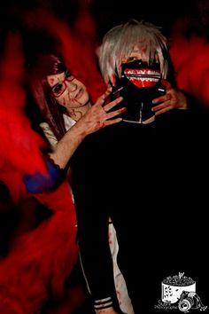 Rize xKaneki  -Tokyo Ghoul