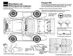 Paper Car Cut-outs – Moss Motoring
