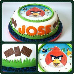 Cake Angry Bird #PrityCakes #pritycakes #cake #dulce #torta #panamacakes #edibleprintsoncake # fondant #fondantart #panama #panamapastry #ptyb#pty507 #angrybirds #angrybirdscakes