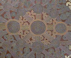 Dave Ross PWERLE_Chemins du Rêve_Art aborigene australien