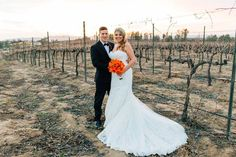 Cheers to Scot & Jessica Mellinger (our 1st wedding in 2016!)! Thank you for sharing your photos from your January 16, 2016 wedding! We loved hosting your wedding with all your pops of color! Cheers to another Mount Palomar Winery favorite couple! #mountpalomarwinery
