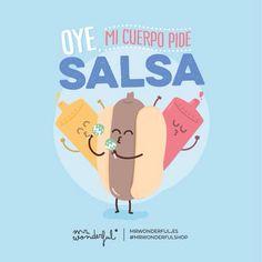 Mi cuerpo pide salsa