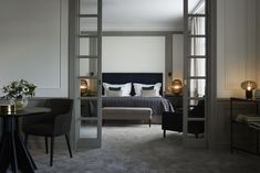 The newly remodeled Princess Lillian Suite at Grand Hotel Stockholm is a showcase in international deluxe style.