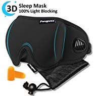 Sleep Mask Blindfold Sleeping Mask For Women And Men Unique Air Ventilated 3d Eye Mask Adjustable Blackout No Pr Sleep Mask Best Sleep Mask Eye Cover For Sleep