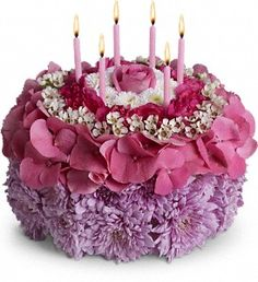 A Healthier Birthday Cake D Beautiful Flowers Fresh Orange