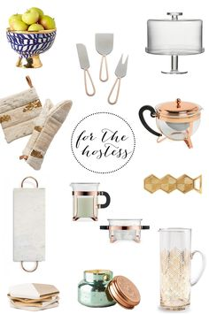 Gift Guide For The Hostess | TheSubtleStatement.com