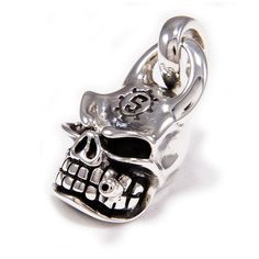 Skull/Smoking Cigar/925 Sterling Silver Pendant/Silver Skull Necklace/Biker Jewelry/Silver Skull Pendant/Gothic/Charm/Men's/Women's cs-051 Sterling Silver Pendants, Silver Jewelry, Silver Skull Ring, Gothic Rings, Skull Pendant, Skull Necklace, Wallet Chain, Leather Keychain, Chains For Men