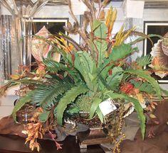30 inch boston fern basket silk plant w70 leaves greenplanttree silk flower arrangements silk plants silk flowers tropical mightylinksfo