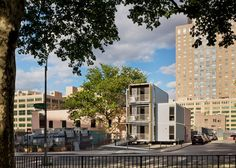 Post-disaster housing for New York by Garrison Architects