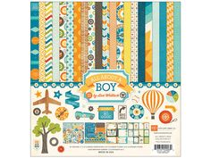 Echo Park Collection Kit 12x 12 All About A Boy