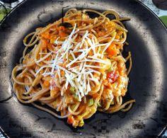 Rezept Bäuerlicher Spaghetti-Eintopf von Lawlie - Rezept der Kategorie Hauptgerichte mit Gemüse