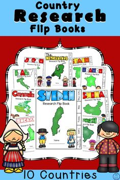 A great way to learn about ten different countries of the world and their cultures is with these awesome Country Research Flip Books. Geography Activities, Geography Lessons, Educational Crafts, Countries Of The World, Simple Living, Fun Learning, Flip Books, History, Country