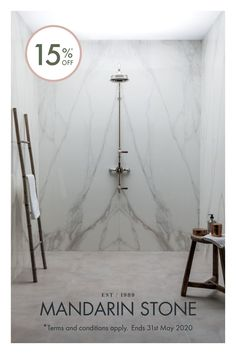 Off our New Collections, including the Mimica Bianco Ravenna Gold Gloss Porcelain Tile. Modern Classic Bathrooms, Modern Bathroom Tile, Bathroom Tile Designs, Bathroom Interior, Bathroom Ideas, Master Bathroom, Bathroom Marble, Downstairs Bathroom, Bath Ideas