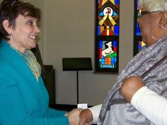 Debbie had an amazing Dr. MLK Day celebrating with Reverend Williams and members of the Good Shepherd Lutheran Church.