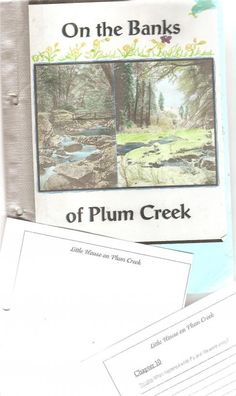 Little House on the Prairie, On the Banks of Plum Creek lapbook download