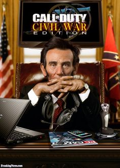 Abe Lincoln the PC Gamer-looks interesting...