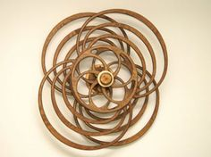 Kinetic Wood Sculptures