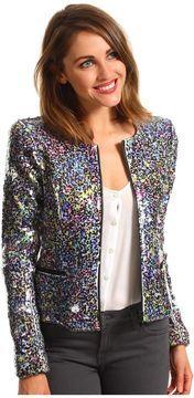 Joe's Jeans - Opale Sequin Jacket (Multi Color) - Apparel on shopstyle.com