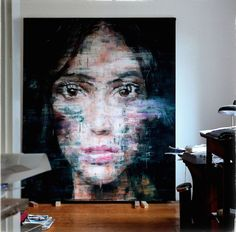 Artist Harding Meyer Paints More Beautifully Glitchy Portraits - My Modern Metropolis