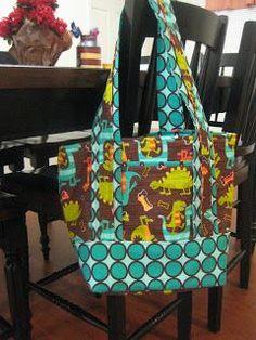 My Crafty Side: Purse/Diaper Bag **Tutorial**