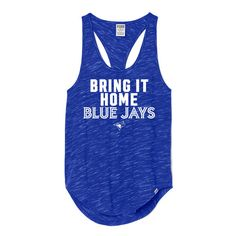 Cute Toronto Blue Jays Tank Top  - http://cutesportsfan.com/toronto-white-and-blue-jays/