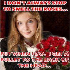 Poor, crazy little Lizzie!  The Walking Dead season finale is tonight!  AIM FOR THE HEAD!