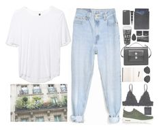 """""""Untitled #2701"""" by wtf-towear ❤ liked on Polyvore featuring Levi's, Boutique, NIKE, Monki, 3.1 Phillip Lim, Balenciaga, NARS Cosmetics, Könitz, Case-Mate and Dermablend"""