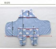 Baby Diy Stuff Sleeping Bags Ideas For 2019 Baby Sewing Projects, Sewing For Kids, Sewing Diy, Bags Sewing, Sewing Crafts, Diy Crafts, Baby Outfits, Diy Bebe, Handmade Baby Gifts