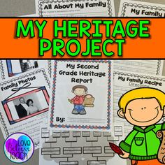 Celebrate diversity with this at-home heritage research report project. Students work with their families as they learn more about their heritage. Students will interview a family member, complete their family tree, examine family photos and recipes, and learn about the countries that their