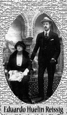 Eduardo Huelin Reissig y Amalia Sans y Crucet