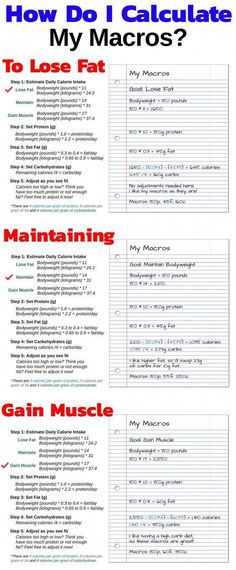 How To Calculate Your Macros For A Weight Loss And Muscle Gain Diet - If you want to know, in simple terms, how to calculate your macros for effortless muscle gain and/or fat loss, then you want to read this article. If you care at all about weight loss, Gym Nutrition, Nutrition Education, Nutrition Guide, Nutrition Classes, Weight Loss Plans, Weight Loss Program, Weight Loss Workout, Weight Gain Diet, Workout Motivation