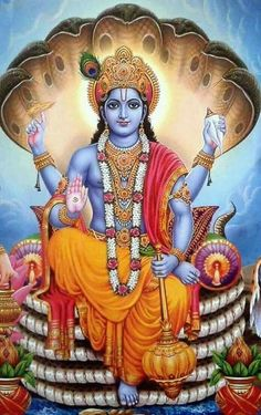 Bhagwan Vishnu On Sheshnag Hari Vishnu Ji Hare Krishna, Krishna Hindu, Radha Krishna Images, Lord Krishna Images, Hindu Deities, Krishna Pictures, Hanuman Photos, Hanuman Images, Shri Hanuman