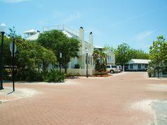 Main Street in Seaside Florida.