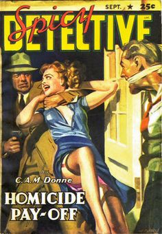 088c Spicy Detective Stories Sep-1941 Includes Death Watch by E. Hoffmann Price as by Stan Warner | Flickr - Photo Sharing!