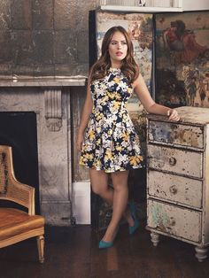 Definitions Floral Scuba Fit and Flare Skater Dress - Item number 4KP9L #burrbears #tanyaburr
