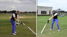 SHALLOW YOUR CLUB IN THE DOWN SWING - YouTube