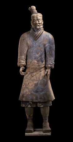 Light infantryman, Qin dynasty (221–206 BCE) Terracotta | Qin Shihuang Terracotta Warriors and Horses Museum
