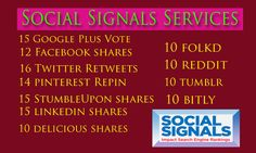 Top Most Social Signals.