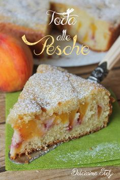 Easy Bread Recipes, Banana Recipes, Sweet Recipes, Cookie Recipes, Just Desserts, Delicious Desserts, Peach Cake, Torte Cake, Beer Bread