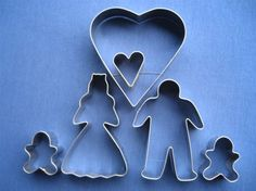 Family Cookie Cutter Set