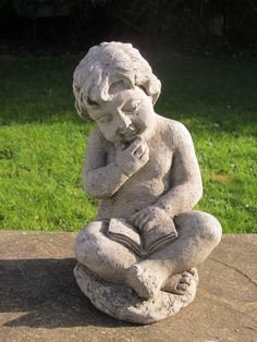 New in stock is this Cherub statue.